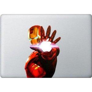 Iron Man Mac Sticker