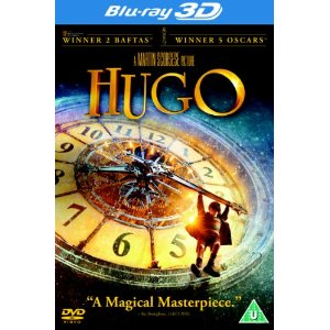 Hugo Bluray DVD