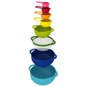 Joseph Joseph Nest 8 Food Preparation Bowl Set