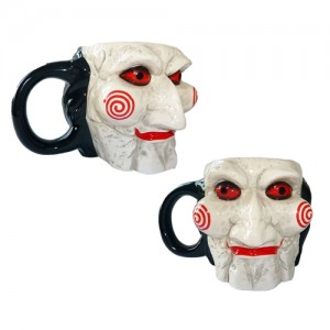 Saw Sculpted Mug