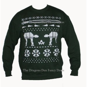 Christmas Star Wars Jumper Sweater